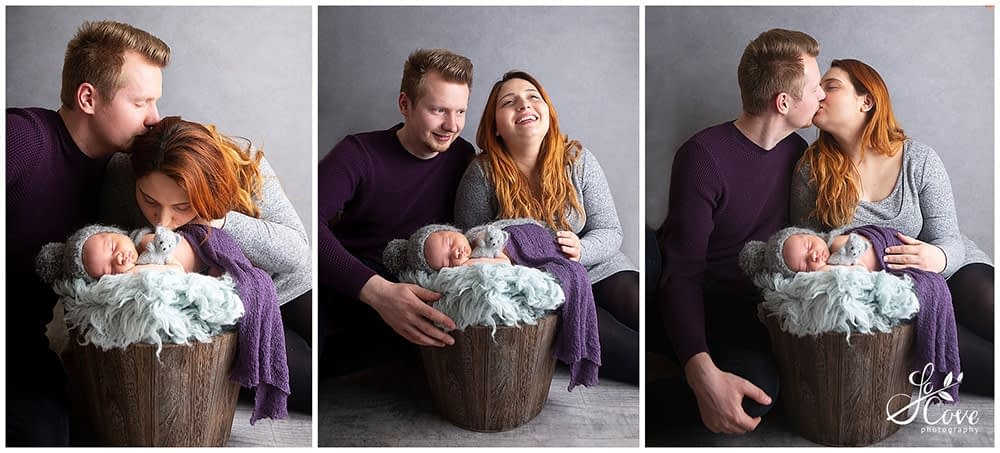 mum and dad with baby