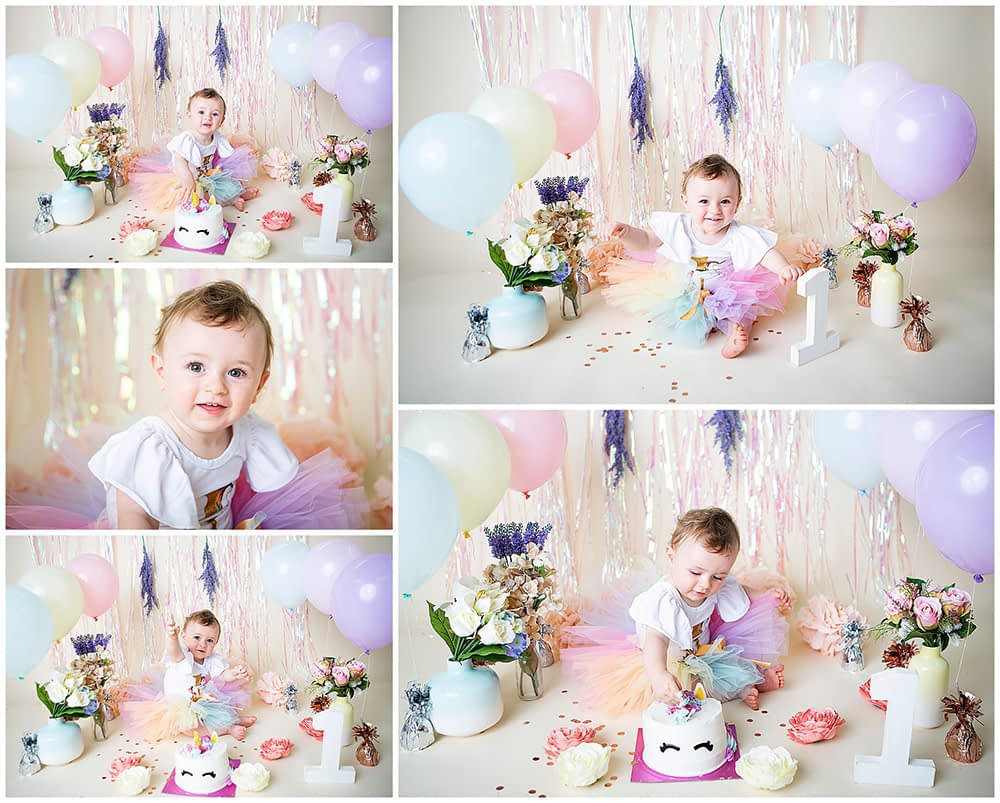 cake smash photography in London