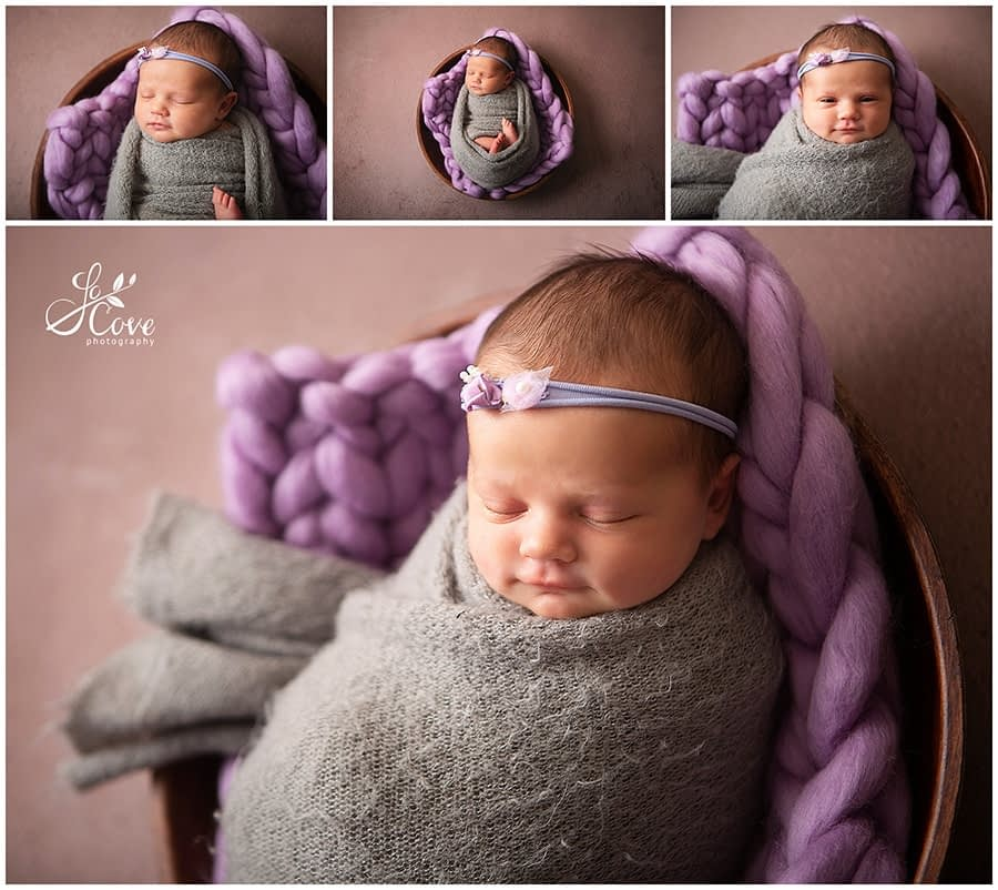 baby wrapped up